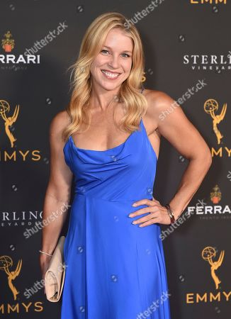 Stock Image of Alicia Leigh Willis is seen at the 2019 Daytime Programming Peer Group Celebration on at the Television Academy in North Hollywood, Calif