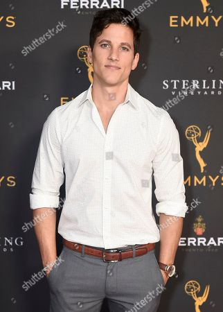 Mike C Manning is seen at the 2019 Daytime Programming Peer Group Celebration on at the Television Academy in North Hollywood, Calif