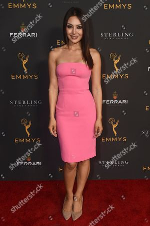 Stock Picture of Chasty Ballesteros is seen at the 2019 Daytime Programming Peer Group Celebration on at the Television Academy in North Hollywood, Calif