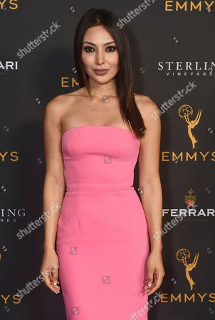 Stock Image of Chasty Ballesteros is seen at the 2019 Daytime Programming Peer Group Celebration on at the Television Academy in North Hollywood, Calif