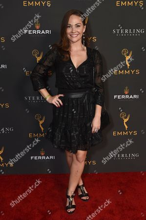 Stock Photo of Jade Harlow is seen at the 2019 Daytime Programming Peer Group Celebration on at the Television Academy in North Hollywood, Calif
