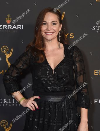 Stock Picture of Jade Harlow is seen at the 2019 Daytime Programming Peer Group Celebration on at the Television Academy in North Hollywood, Calif