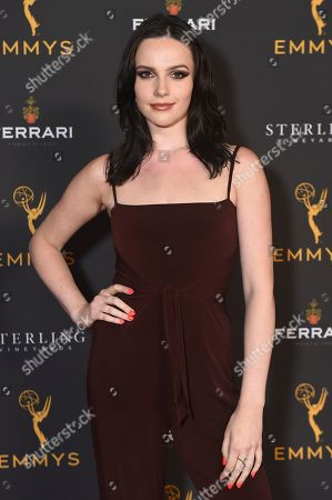 Stock Picture of Cait Fairbanks is seen at the 2019 Daytime Programming Peer Group Celebration on at the Television Academy in North Hollywood, Calif
