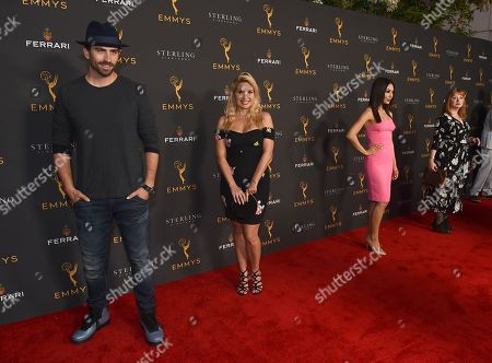 Swen Temmel, Meadow Williams, Chasty Ballesteros, Andrea Evans. Swen Temmel, from left, Meadow Williams, Chasty Ballesteros and Andrea Evans are seen at the 2019 Daytime Programming Peer Group Celebration on at the Television Academy in North Hollywood, Calif