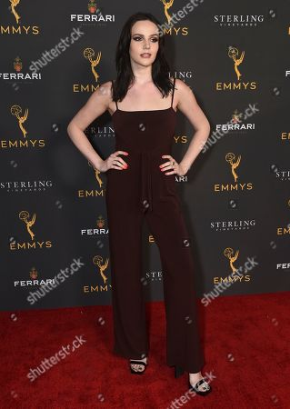 Cait Fairbanks is seen at the 2019 Daytime Programming Peer Group Celebration on at the Television Academy in North Hollywood, Calif