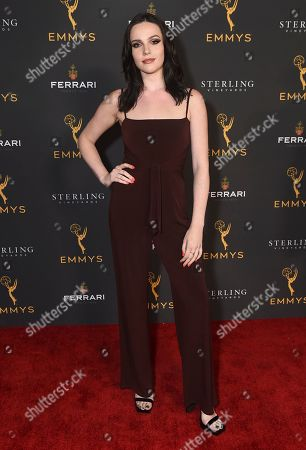 Stock Photo of Cait Fairbanks is seen at the 2019 Daytime Programming Peer Group Celebration on at the Television Academy in North Hollywood, Calif