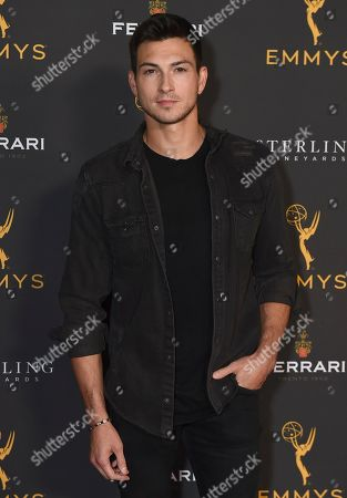 Robert Scott Wilson is seen at the 2019 Daytime Programming Peer Group Celebration on at the Television Academy in North Hollywood, Calif