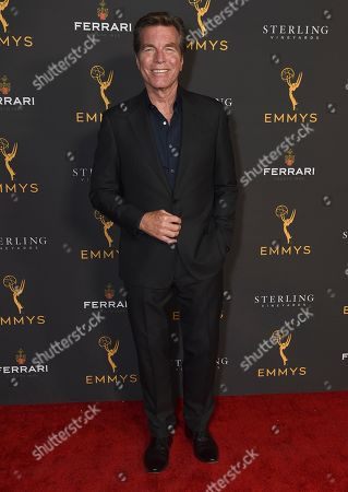 Peter Bergman is seen at the 2019 Daytime Programming Peer Group Celebration on at the Television Academy in North Hollywood, Calif