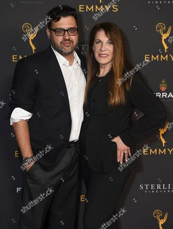 Gregori J. Martin, Wendy Riche. Gregori J. Martin, left, and Wendy Riche are seen at the 2019 Daytime Programming Peer Group Celebration on at the Television Academy in North Hollywood, Calif