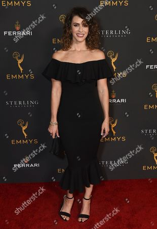 Linsey Godfrey is seen at the 2019 Daytime Programming Peer Group Celebration on at the Television Academy in North Hollywood, Calif