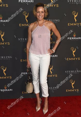 Arianne Zucker is seen at the 2019 Daytime Programming Peer Group Celebration on at the Television Academy in North Hollywood, Calif