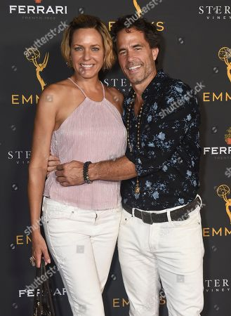Arianne Zucker, Shawn Christian. Arianne Zucker, left, and Shawn Christian are seen at the 2019 Daytime Programming Peer Group Celebration on at the Television Academy in North Hollywood, Calif