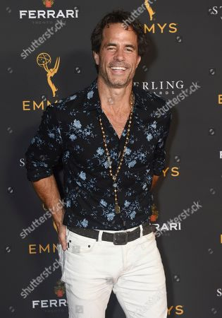 Shawn Christian is seen at the 2019 Daytime Programming Peer Group Celebration on at the Television Academy in North Hollywood, Calif