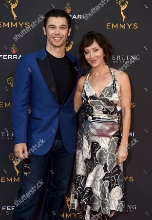 Paul Telfer, Carmen Cusack. Paul Telfer, left, and Carmen Cusack are seen at the 2019 Daytime Programming Peer Group Celebration on at the Television Academy in North Hollywood, Calif