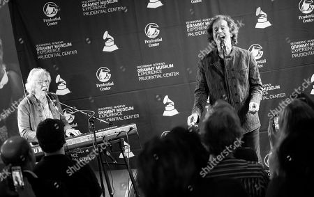 Editorial photo of 'An Evening With The Zombies' Conversation & Performance, GRAMMY Museum Experience Prudential Center, New Jersey, USA - 28 Aug 2019