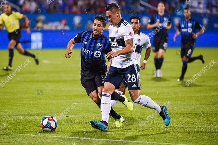 Editorial picture of MLS Whitecaps vs Impact, MontréAl, USA - 28 Aug 2019