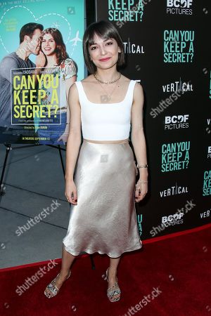 Editorial photo of 'Can You Keep a Secret' film premiere, Arrivals, ArcLight Cinemas, Los Angeles, USA - 28 Aug 2019
