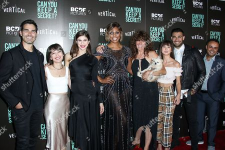 Tyler Hoechlin, Kate Easton, Alexandra Daddario, Laverne Cox, Elise Duran, Kimiko Glenn, Sam Asghari and Robert King