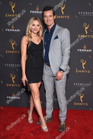 Stock Photo of Matthew Atkinson and Karissa Staples