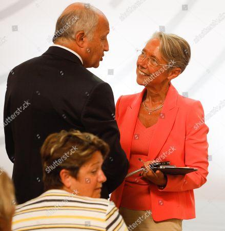 Laurent Fabius, Elisabeth Borne