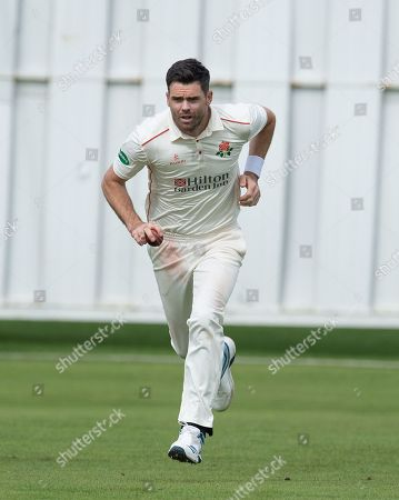 James Anderson running in
