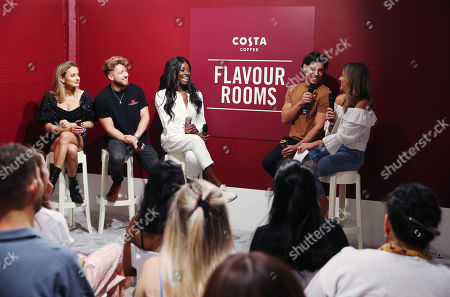 Editorial image of Costa Coffee's Flavour Rooms dating and relationships event, London, UK - 29 Aug 2019