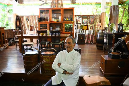Stock Image of Former President of East Timor and Nobel Peace Prize Laureate Jose Ramos Horta is seen at his house during an interview with Australian Associated Press in Dili, East Timor, Thursday, August 29, 2019. East Timor is celebrating the 20th anniversary of its independence from Indonesia tomorrow.