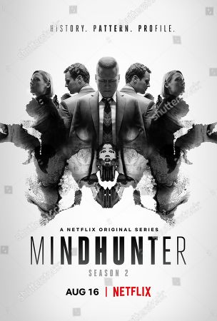 Mindhunter (2019) Poster Art. Anna Torv as Dr. Wendy Carr, Holt McCallany as Bill Tench and Jonathan Groff as Holden Ford