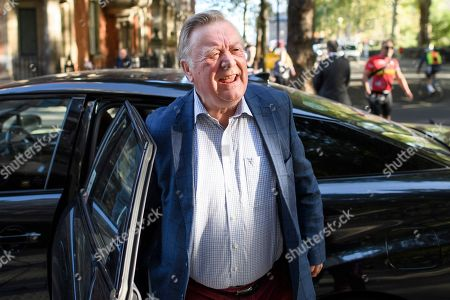 Conservative MP Kenneth Clarke is seen at Milbank Studio in Westminster