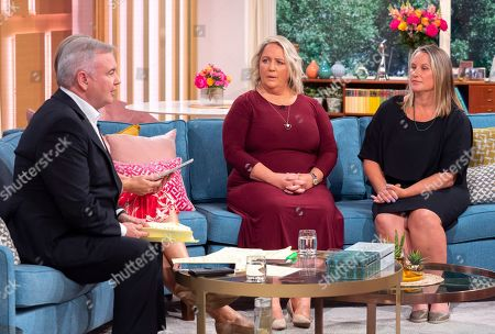 Eamonn Holmes, Clare Muldoon and Jules Daulby