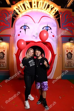 Ella Henderson and Jack Jones were some of the first to experience IT CHAPTER TWO: THE VAULTS EXPERIENCE in London. IT CHAPTER TWO: THE VAULTS EXPERIENCE a free, ticketed event open to the public 31st August - 4th September. IT CHAPTER TWO is released in UK cinemas on 6th September.