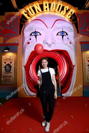Stock Picture of Katie Leung was one of the first to experience IT CHAPTER TWO: THE VAULTS EXPERIENCE in London. IT CHAPTER TWO: THE VAULTS EXPERIENCE a free, ticketed event open to the public 31st August - 4th September. IT CHAPTER TWO is released in UK cinemas on 6th September.