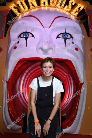 Stock Image of Katie Leung was one of the first to experience IT CHAPTER TWO: THE VAULTS EXPERIENCE in London. IT CHAPTER TWO: THE VAULTS EXPERIENCE a free, ticketed event open to the public 31st August - 4th September. IT CHAPTER TWO is released in UK cinemas on 6th September.