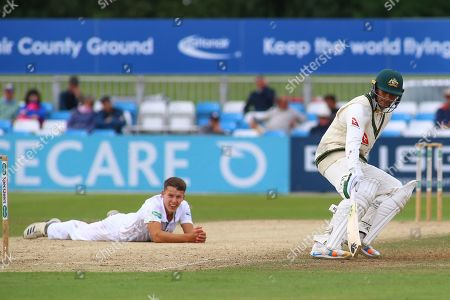 Editorial picture of Derbyshire County Cricket Club v Australia, Tour Match - 29 Aug 2019