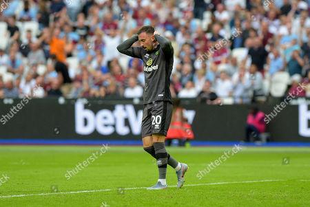 Editorial image of West Ham United v Norwich City, Premier League, Football, London Stadium, London, UK - 31 Aug 2019
