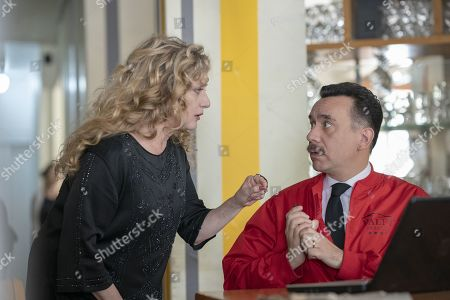 Carol Kane as Bianca Nova and Fred Armisen as Tico