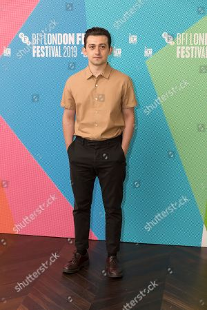 Craig Roberts poses for photographers on arrival at the programme launch for the London Film Festival in central London on . The annual festival will run from the 2 to 13 October