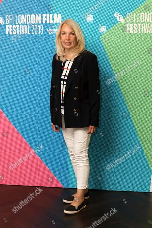 Chief Executive of the British Film Institute Amanda Nevill poses for photographers on arrival at the programme launch for the London Film Festival in central London on . The annual festival will run from the 2 to 13 October