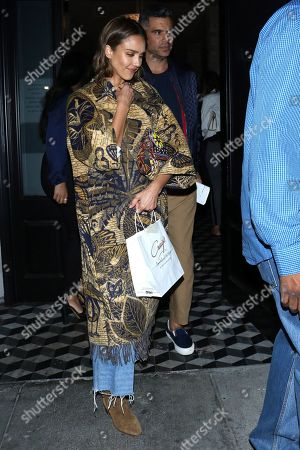 Editorial photo of Jessica Alba out and about, Los Angeles, USA - 28 Aug 2019