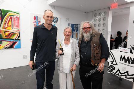 Stock Photo of (L-R) Thurn Hoffman, Sandra Seacat and Mark Boone Junior Jr