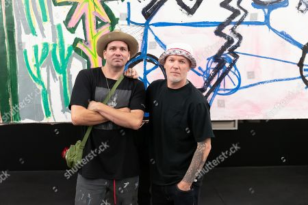 (L-R) Danny Minnick and Fred Durst