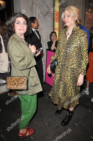 Stock Image of Caitlin Moran and Lauren Laverne