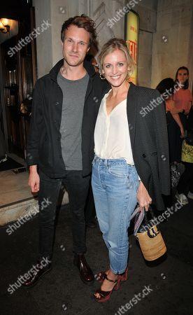 Hugh Skinner and Denise Gough