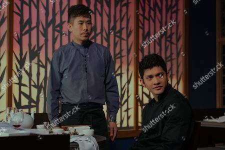 Lawrence Kao as Tommy Wah and Iko Uwais as Kai Jin