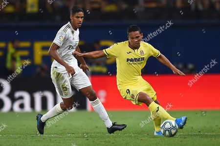 Editorial image of Villarreal CF v Real Madrid, La Liga football match, Estadio de la Ceramica, Villarreal, Spain - 01 Sep 2019