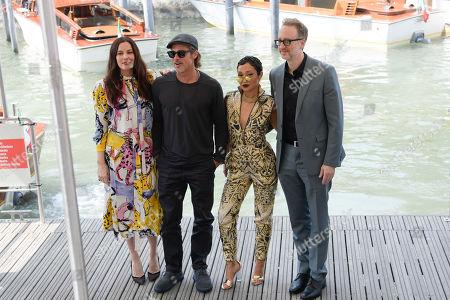 Ruth Negga, Brad Pitt, Liv Tyler, James Gray
