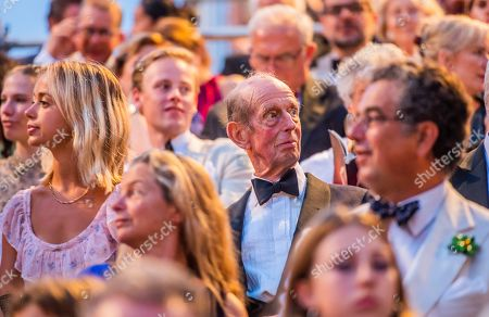 The opening night of the New Generation Festival attended by the Duke of Kent and Members of his family incl his grand-daughter Lady Amelia Windsor - Le Nozze di Figaro, Conducted by Maestro Jonathan Santagada with the Orchestra Senzaspine. Director Victoria Stevens transposes Lorenzo Da Ponte's libretto to the heady world of 1930s movie industry. The New Generation Festival 2019 is inspired by the first ever Corsini festival of 1680.The festival, held in the Corisini Palace Gardens in Florence, is organised by British producers Roger Granville, Maximilian Fane and Frankie Parham.