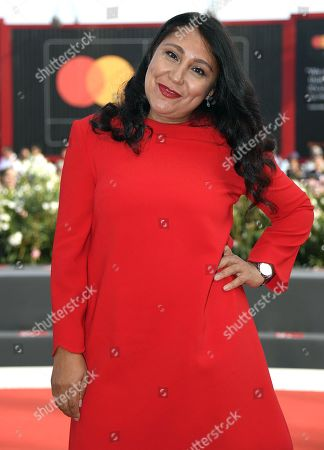 Saudi Arabian film director Haifaa Al-Mansour arrives for the premiere of 'The Perfect Candidate' during the 76th annual Venice International Film Festival, in Venice, Italy, 29 August 2019. The movie is presented in the official competition 'Venezia 76' at the festival running from 28 August to 07 September.