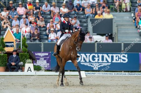 Stock Image of Laura COLLETT (GBR) & London 52 - Longines Eventing European Championships - Luhmühlen 2019 - Salzhausen, Germany - 29 August 2019