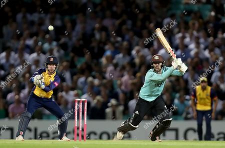 Ben Foakes of Surrey in batting action during Surrey vs Essex Eagles, Vitality Blast T20 Cricket at the Kia Oval on 29th August 2019